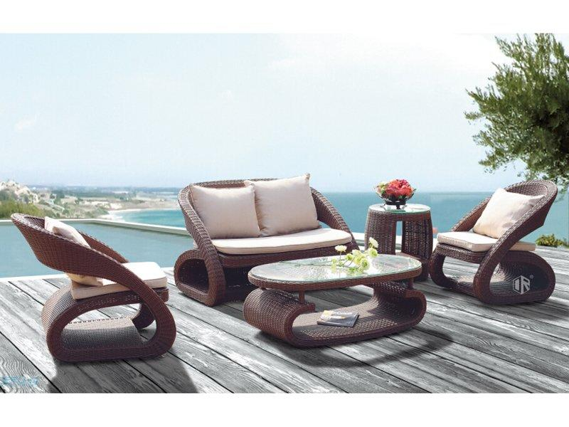 Patio furniture sofa set in mordern design DR-2165