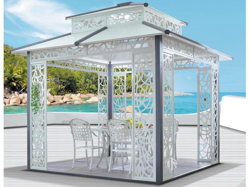 Outdoor patio gazebo aluminum nonrust gazebo DR-1135