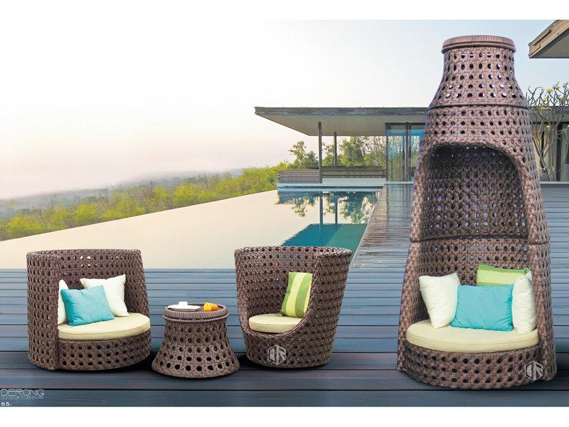 Rattan garden furniture sets swimming pool outdoor furniture set- DR-3257A