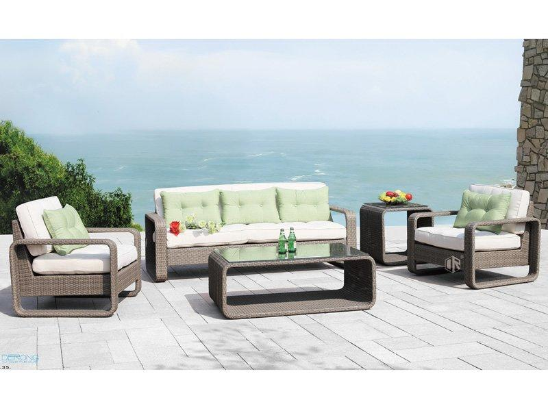 rattan garden furniture sale patio rattan sofa set DR-2161