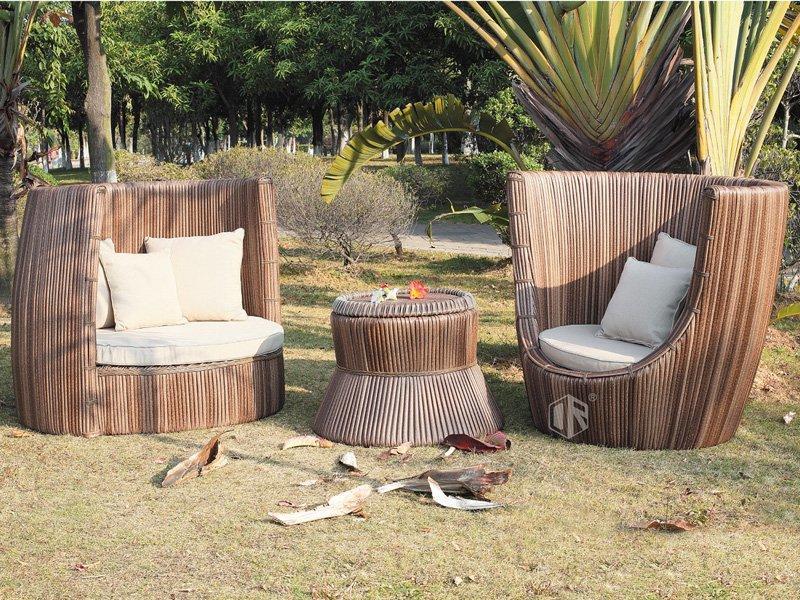 Outdoor wicker patio furniture resort outdoor furniture set- DR-3257
