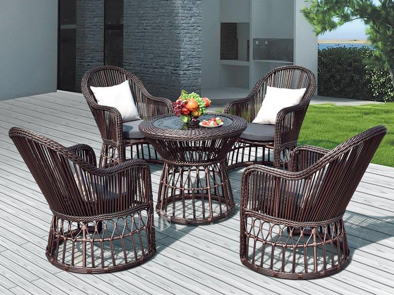 Garden furniture patio luxury coffee furniture set DR-3266A
