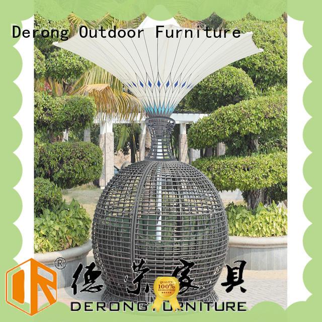 Derong Furniture Wholesale rattan garden set supplier for home