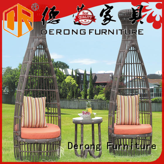 Wholesale rattan garden furniture aluminum frame factory direct supply for seaside