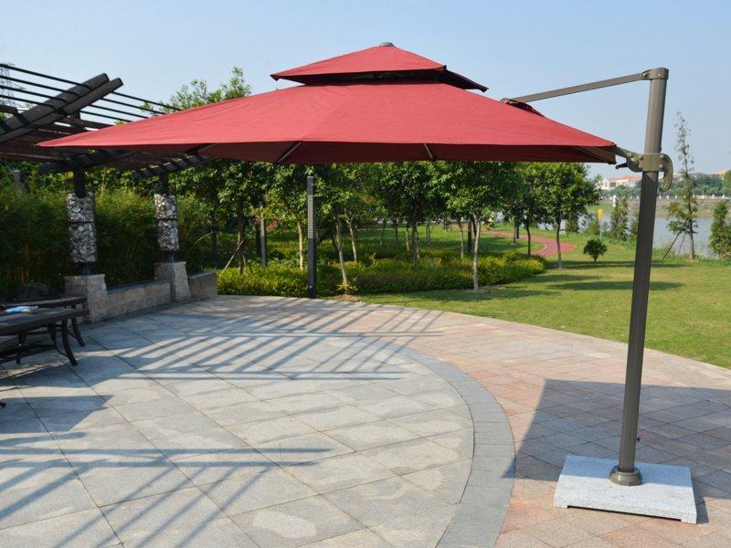 Sun aluminum alloy frame roma umbrella - DR-6101A