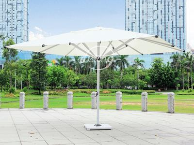 Central Posted 3*5 M Large Sun Parasol - DR-6127 Round Patio Umbrella