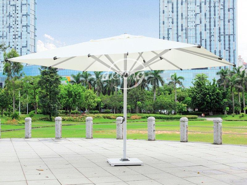 central posted 3*5 m large sun parasol - DR-6127