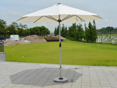 Central Posted Sun Umbrella Pole Dia48mm- DR-6151 Retractable Patio Umbrella