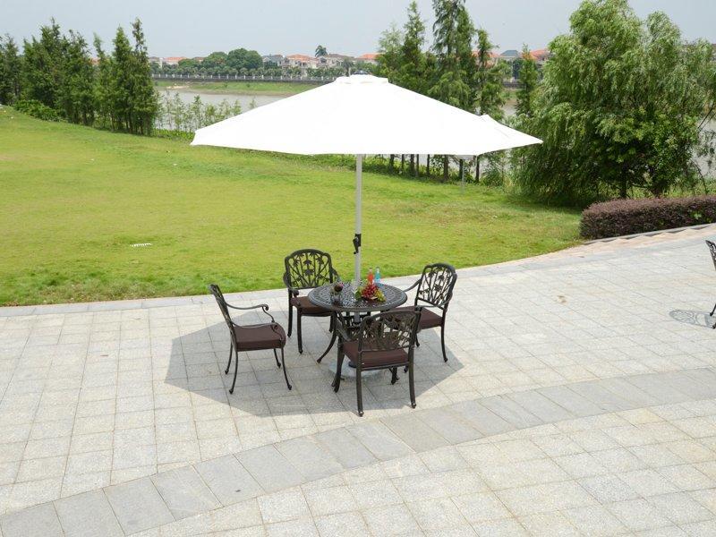 patio umbrella Dia 3/3.5 m central posted sun umbrella pole dia48mm- DR-6151