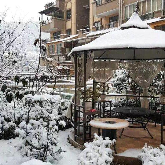 Switzerland outdoor balcony restaurant