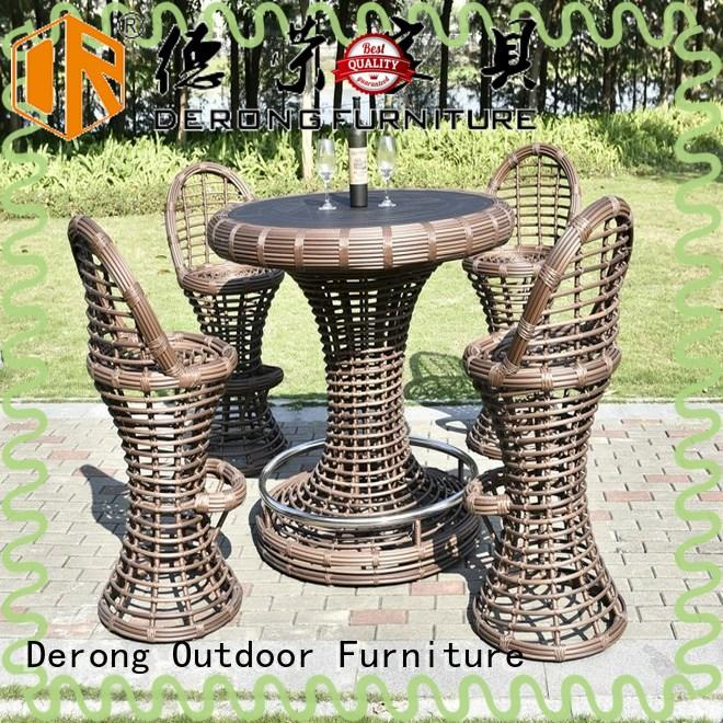 Derong Furniture Wholesale sonneninsel polyrattan wholesale for leisure clubs