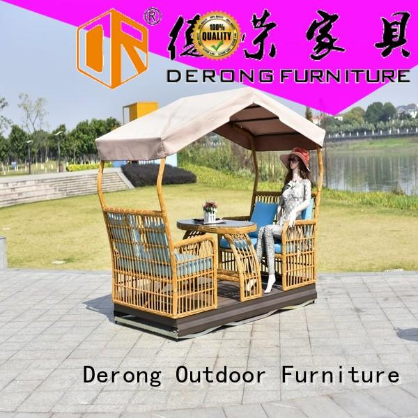 Derong Furniture Top glider swing factory for seaside