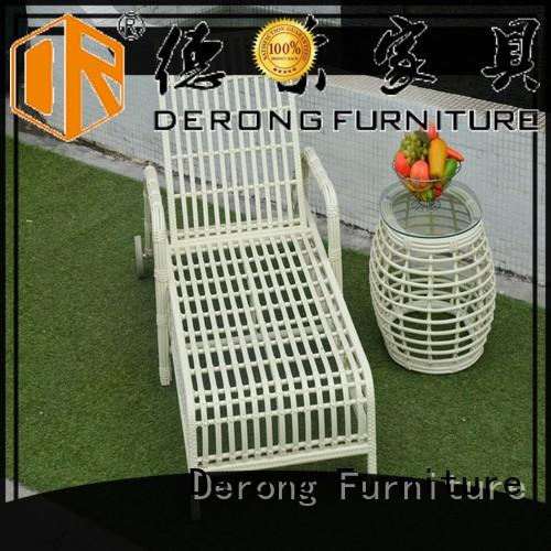 Latest best chaise lounge chairs cast aluminum wholesale for resort hotel