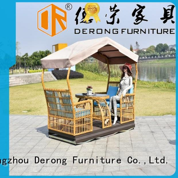 High-quality patio glider with pagoda factory for swimming pool
