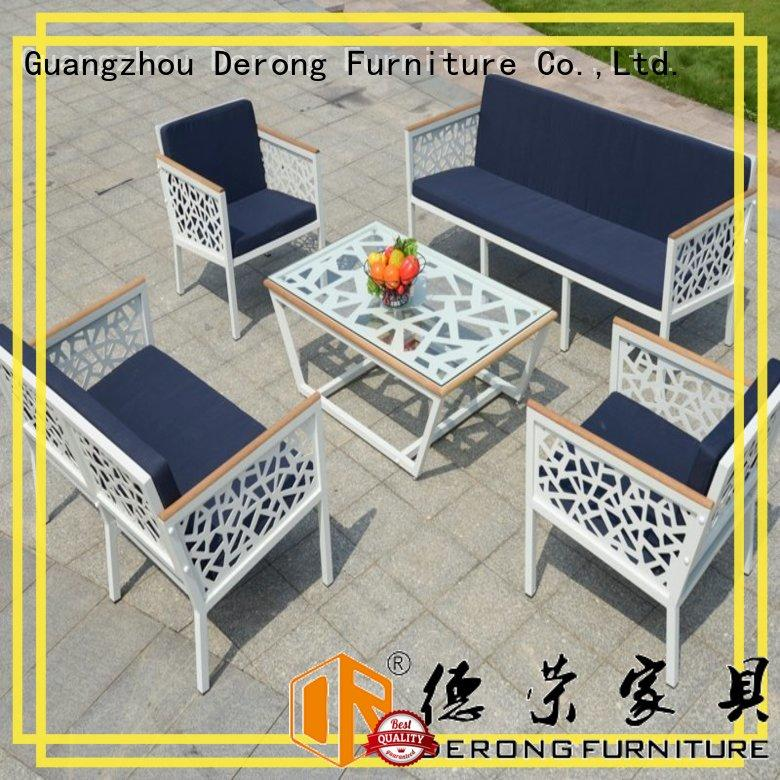 Derong Furniture convenient patio bistro set wholesale for park