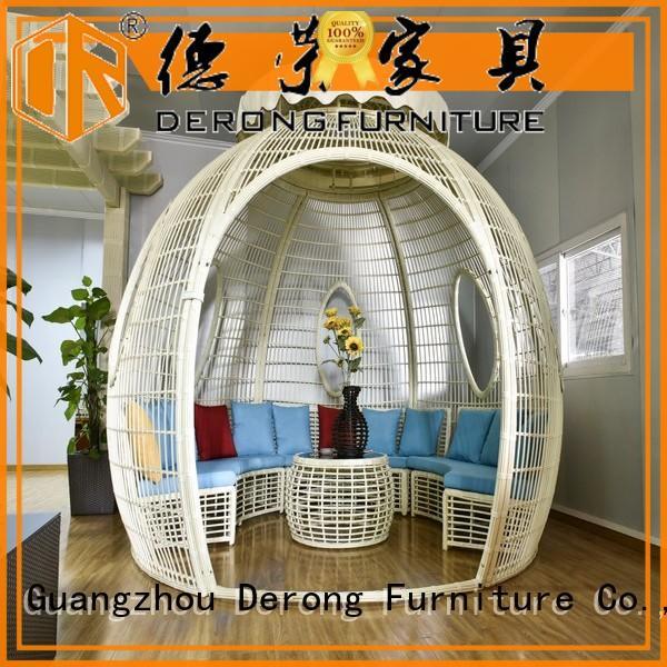 Derong Furniture waterproof outside gazebo manufacturer for villa
