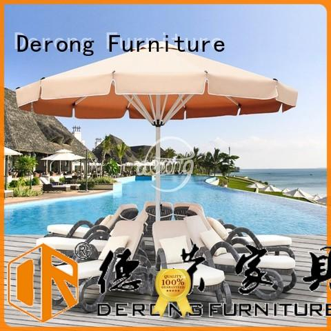 High-quality best outdoor umbrellas aluminum frame directly sale for hotel