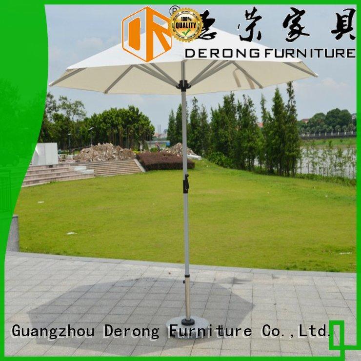 Derong Furniture fashionable best deck umbrella for business for restaurant