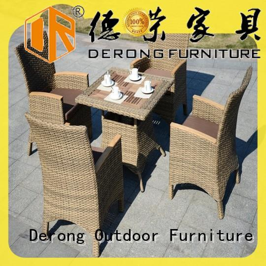 Derong Furniture Wholesale outdoor furniture manufacturers company for resort hotels