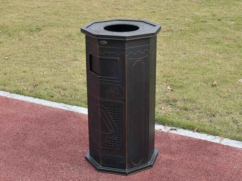 Dust bin for park and outdoor plaza-DR-9169