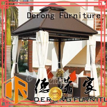 Derong Furniture long lasting outsunny gazebo company for villa